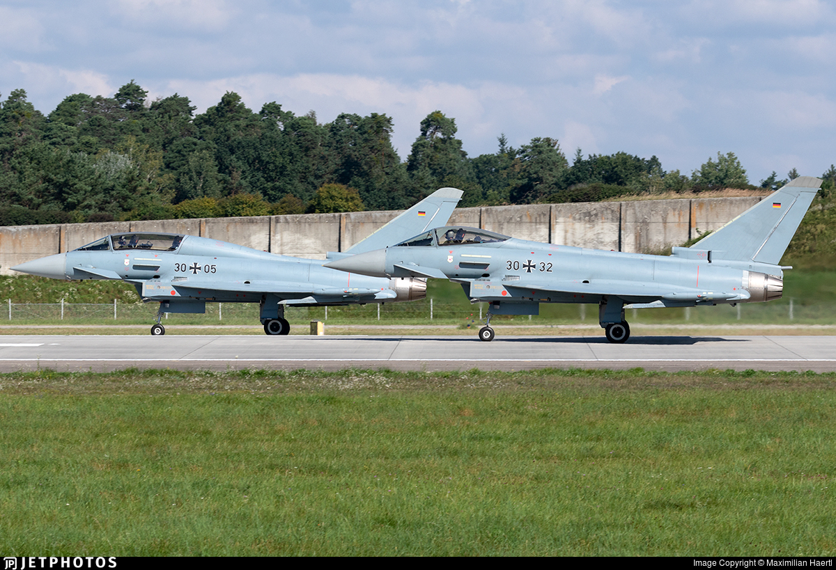 30-32 - Eurofighter Typhoon EF2000 - Germany - Air Force