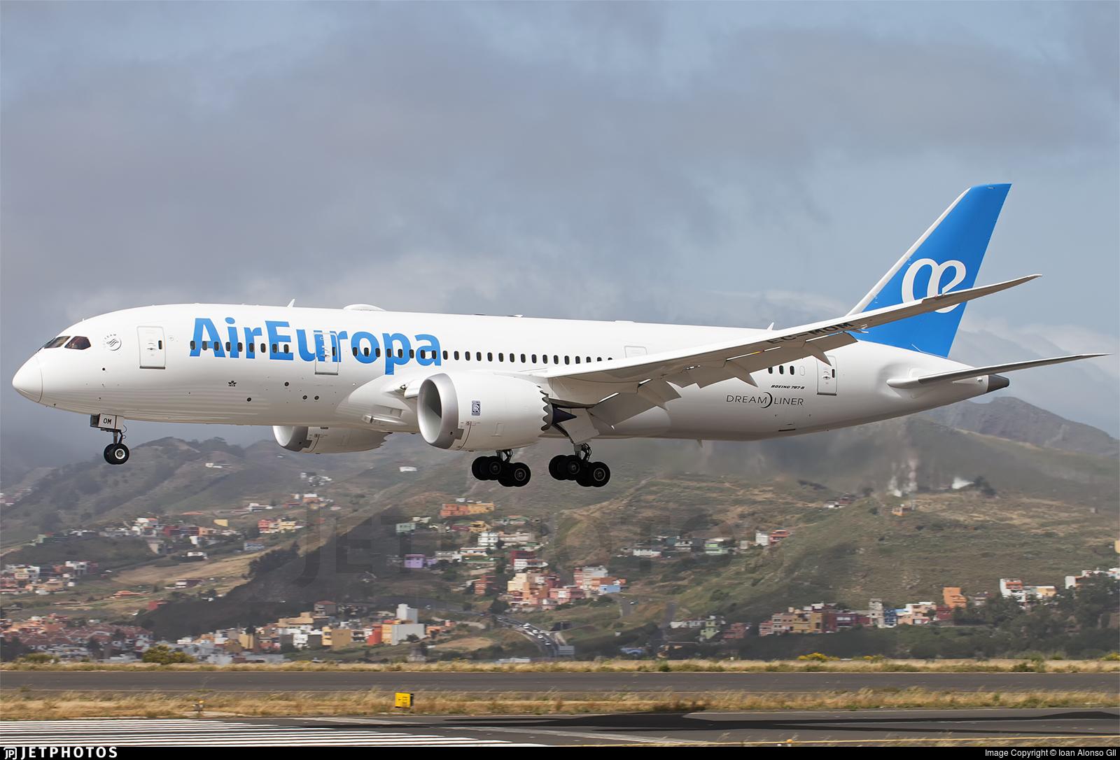 787 air europa related keywords 787 air europa long tail for Interior 787 air europa