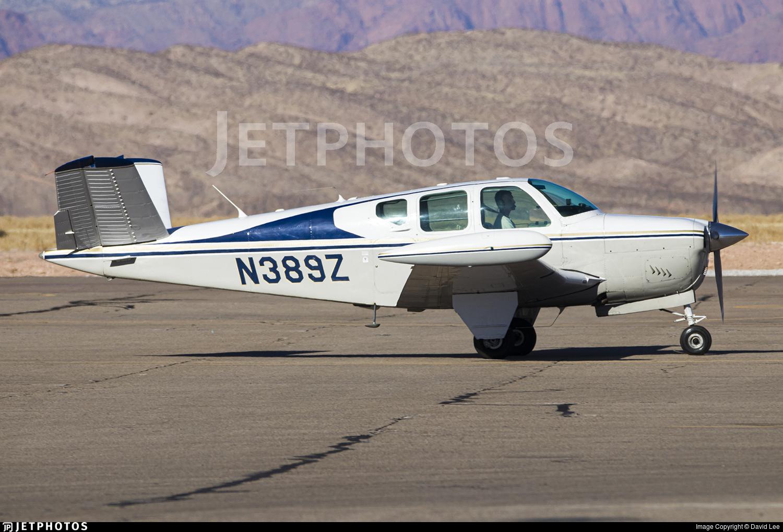 N389Z - Beechcraft M35 Bonanza - Private