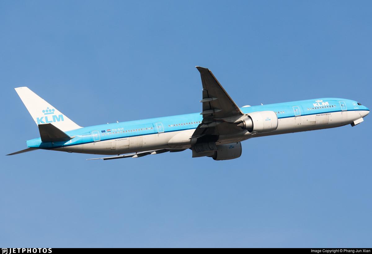 PH-BVF - Boeing 777-306ER - KLM Royal Dutch Airlines
