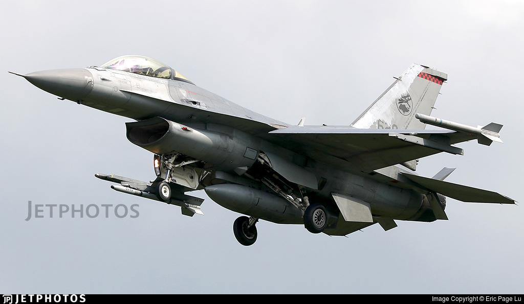 620 - Lockheed Martin F-16C Fighting Falcon - Singapore - Air Force