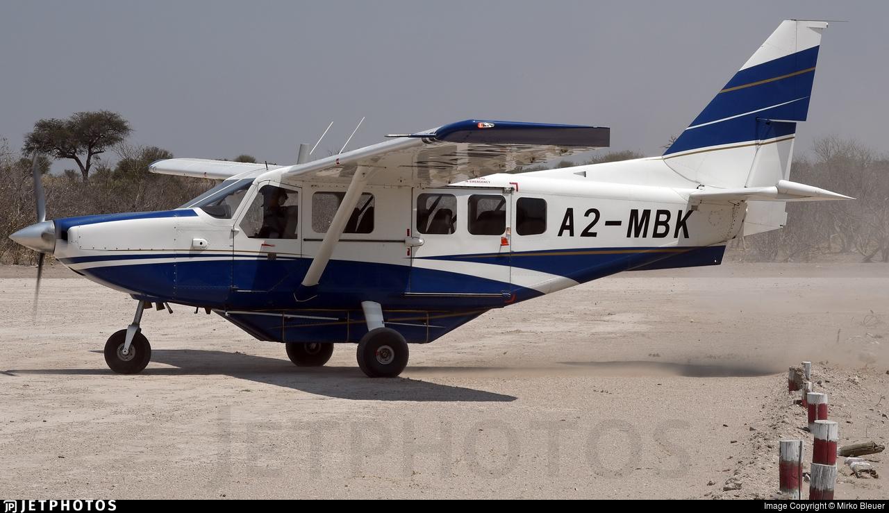 A2-MBK - Gippsland GA-8 Airvan - Major Blue Air