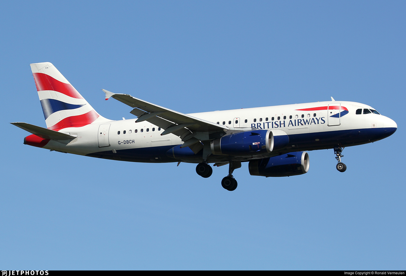 G-DBCH - Airbus A319-131 - British Airways