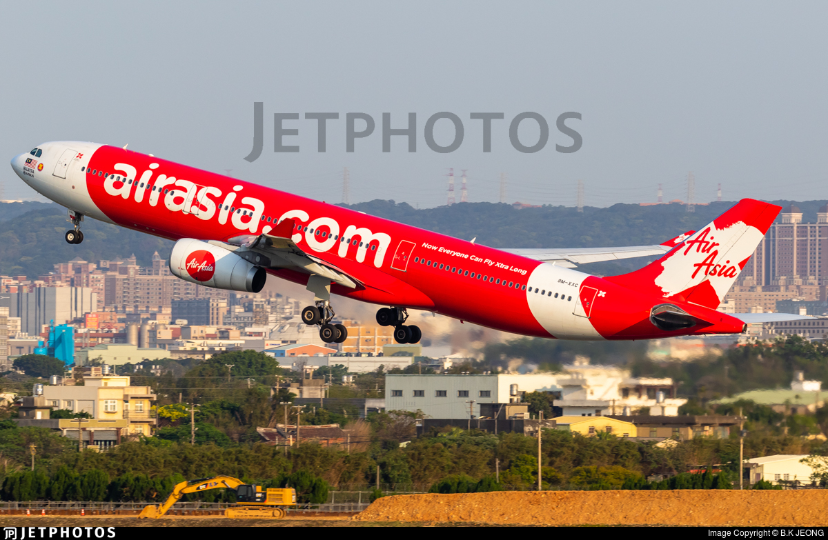 9M-XXC - Airbus A330-343 - AirAsia X