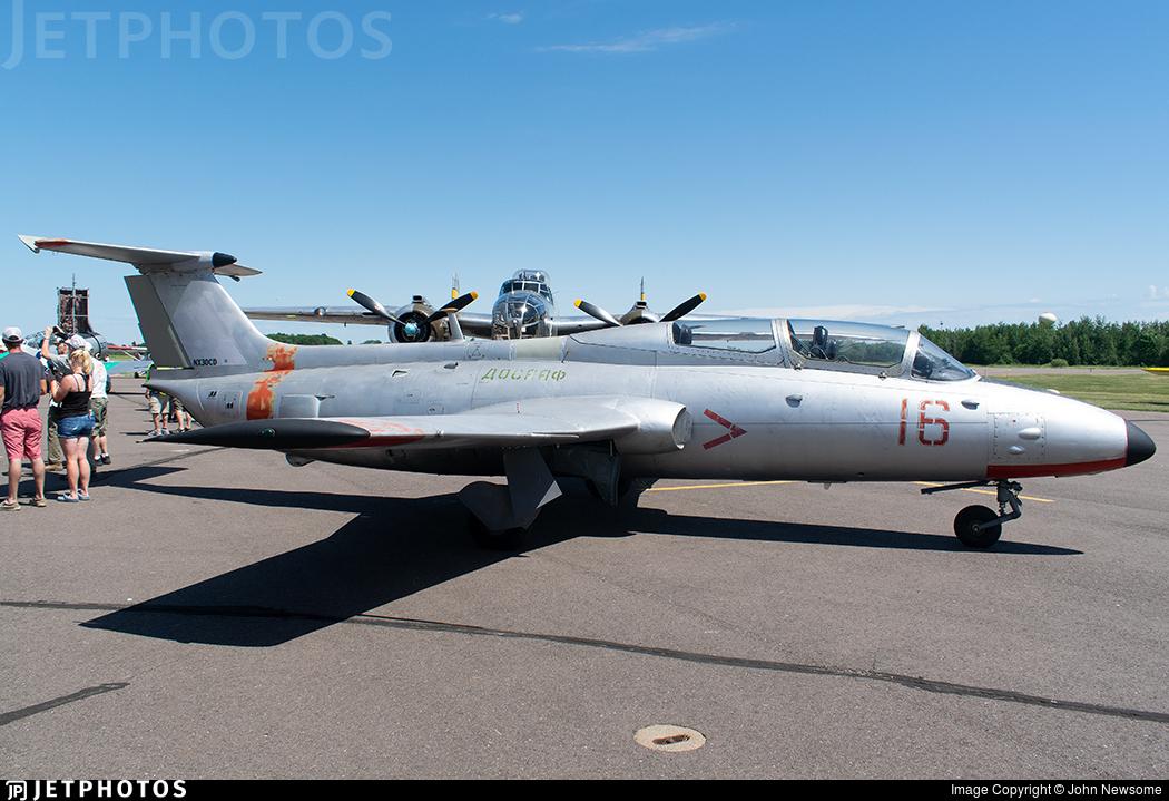 NX30CD - Aero L-29 Delfin - Private