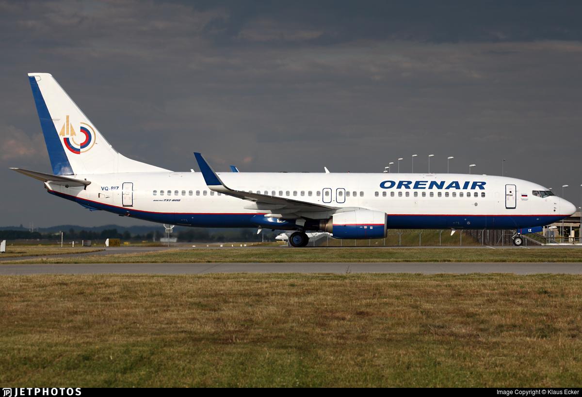 VQ-BIZ - Boeing 737-86N - Orenair