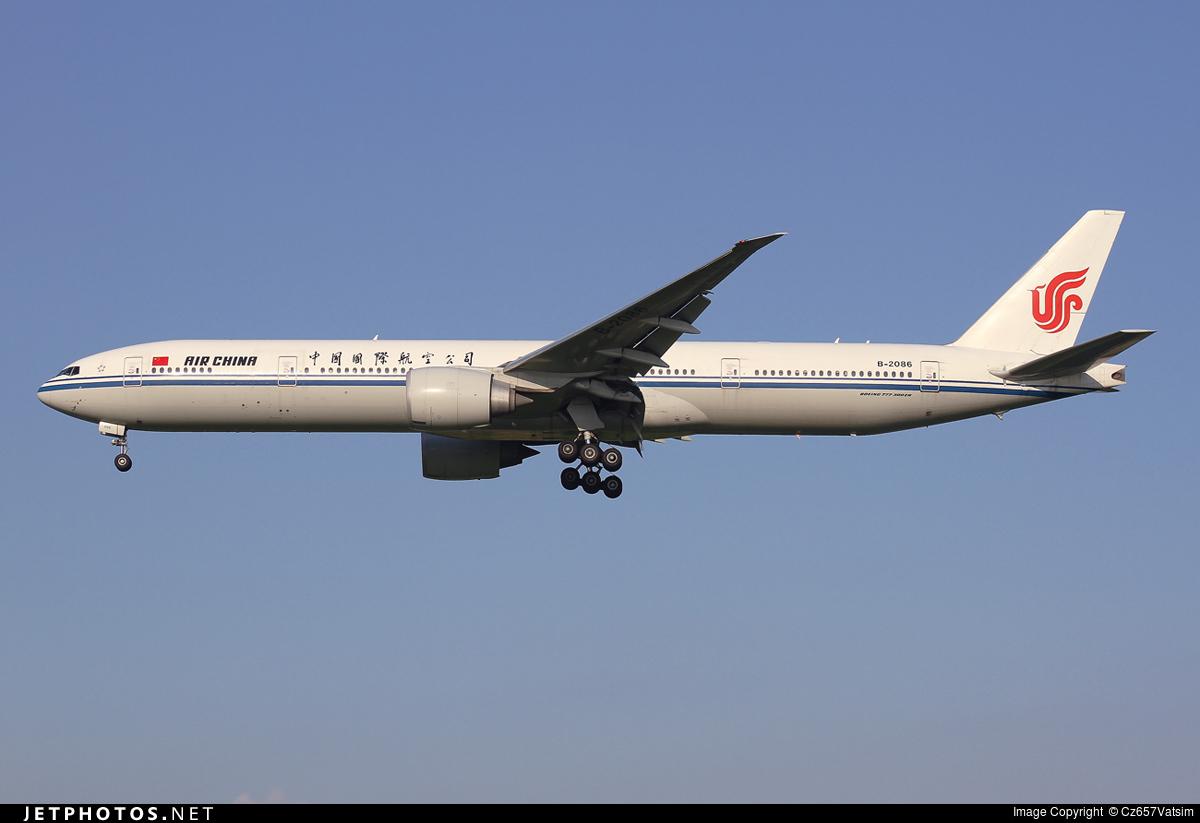 B-2086 - Boeing 777-39LER - Air China
