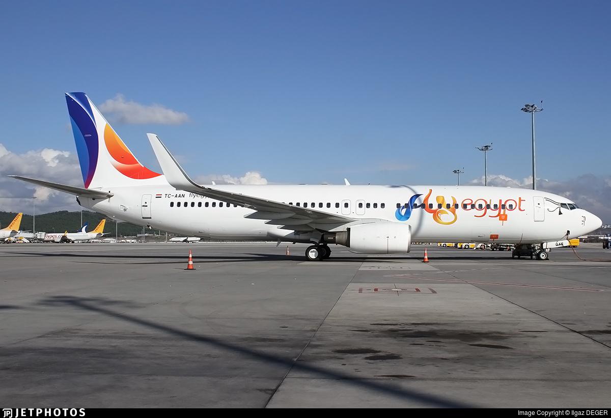 TC-AAN - Boeing 737-82R - FlyEgypt