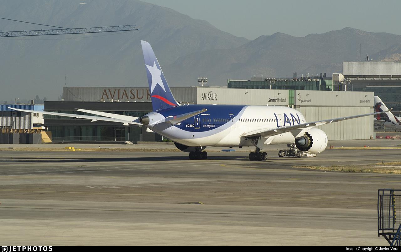 CC-BBC - Boeing 787-8 Dreamliner - LAN Airlines