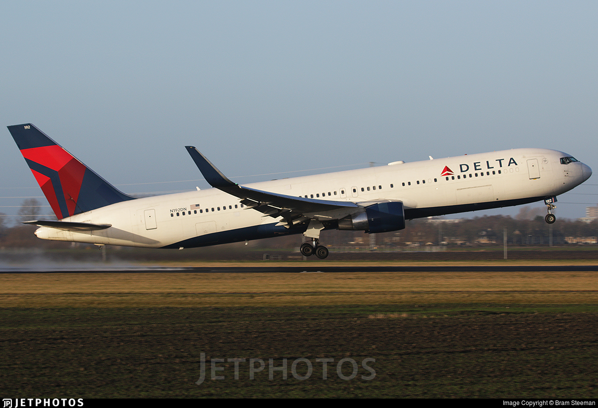 N192DN - Boeing 767-332(ER) - Delta Air Lines