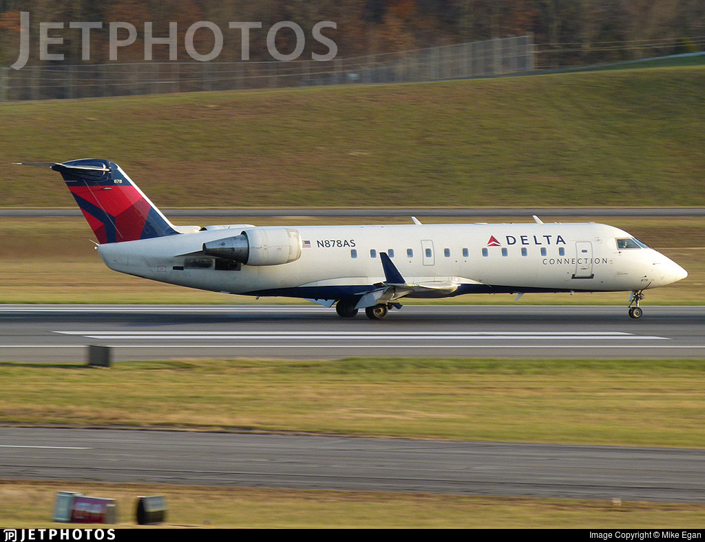 N878AS - Bombardier CRJ-200ER - Delta Connection (ExpressJet Airlines)