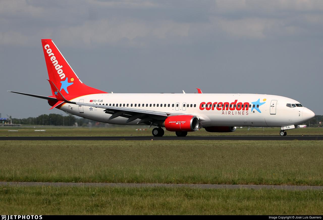 TC-TJS - Boeing 737-81B - Corendon Airlines