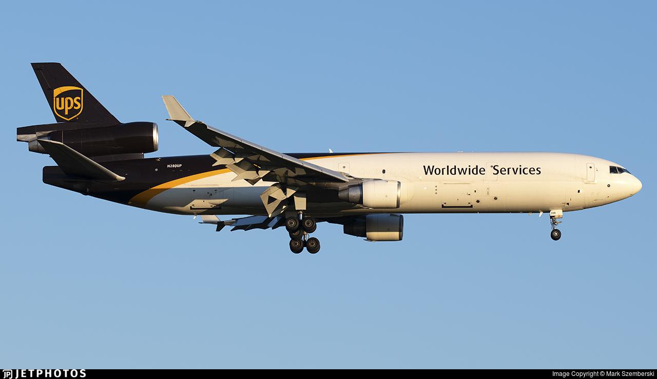 N280UP - McDonnell Douglas MD-11(F) - United Parcel Service (UPS)