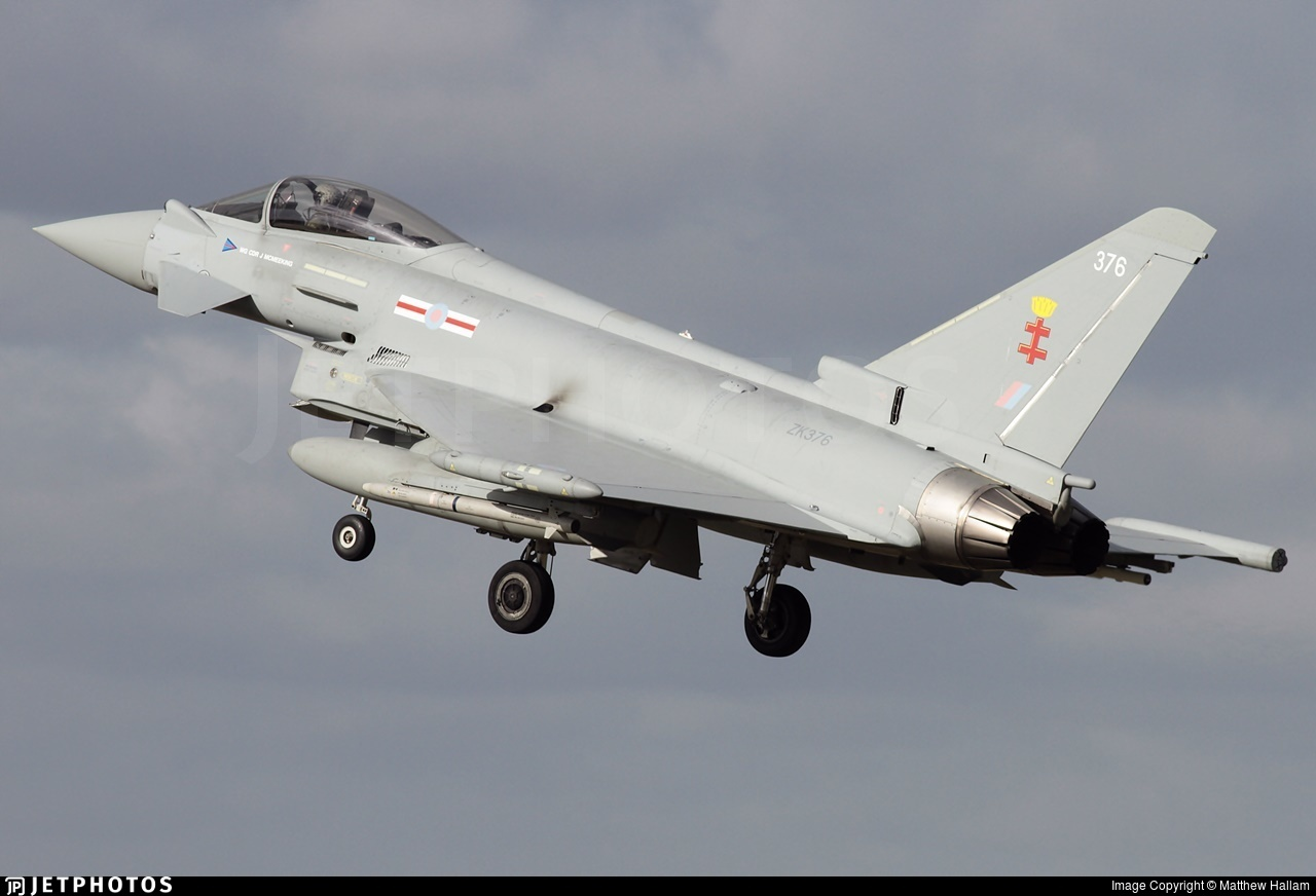 ZK376 - Eurofighter Typhoon FGR.4 - United Kingdom - Royal Air Force (RAF)