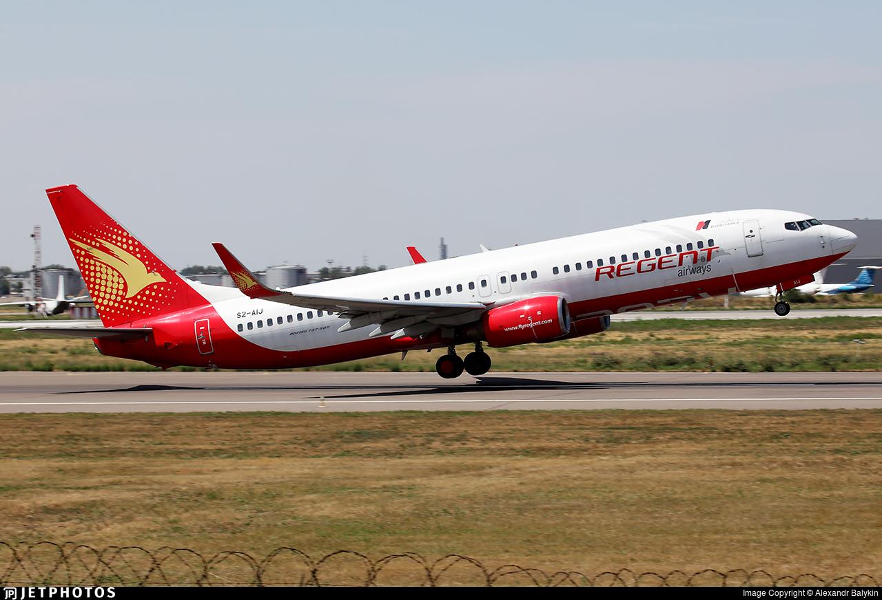 S2-AIJ - Boeing 737-8Q8 - Regent Airways