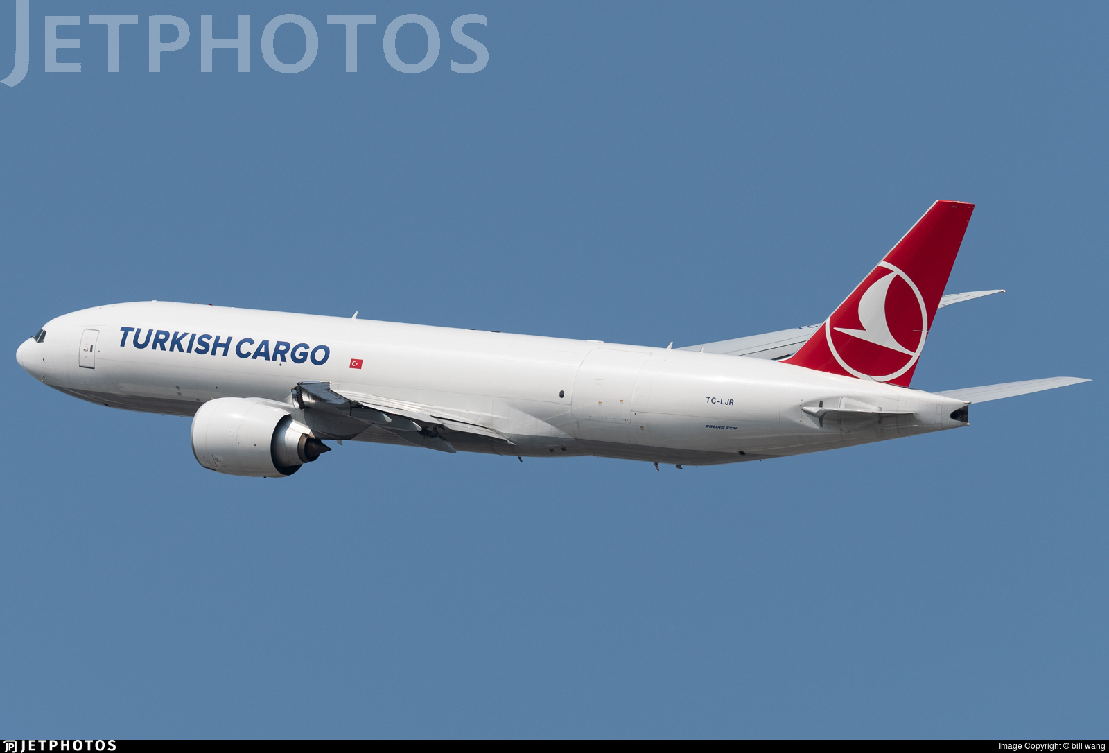 TC-LJR - Boeing 777-FF2 - Turkish Airlines Cargo