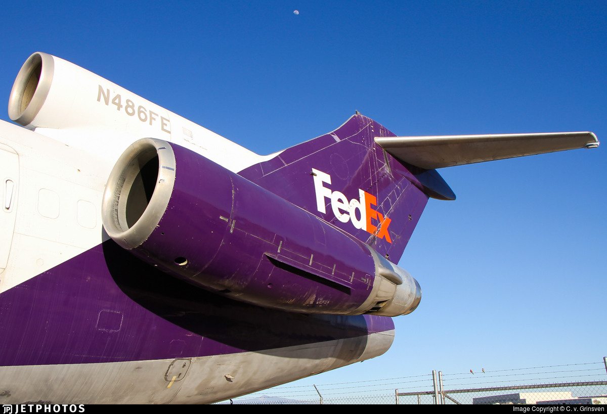 N486FE - Boeing 727-227(Adv)(F) - FedEx