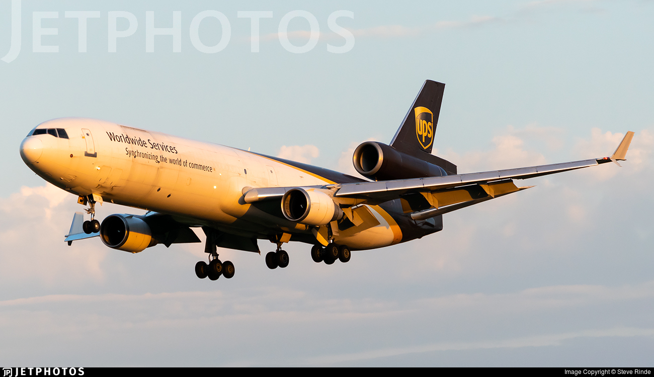 N271UP - McDonnell Douglas MD-11(F) - United Parcel Service (UPS)