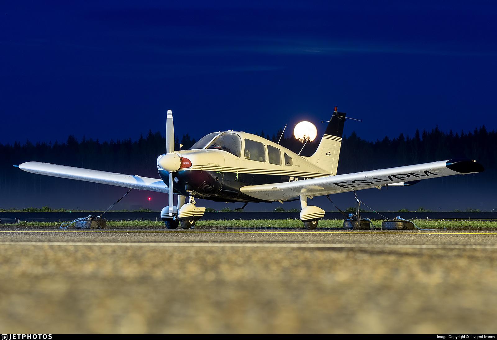 ES-VPM - Piper PA-28-180 Cherokee Archer - Private