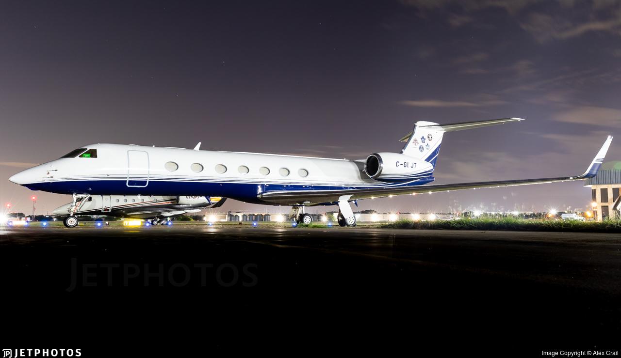 C-GLJT - Gulfstream G550 - Private