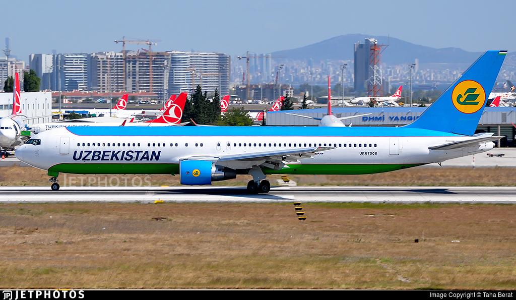 UK67008 - Boeing 767-33P(ER) - Uzbekistan Airways