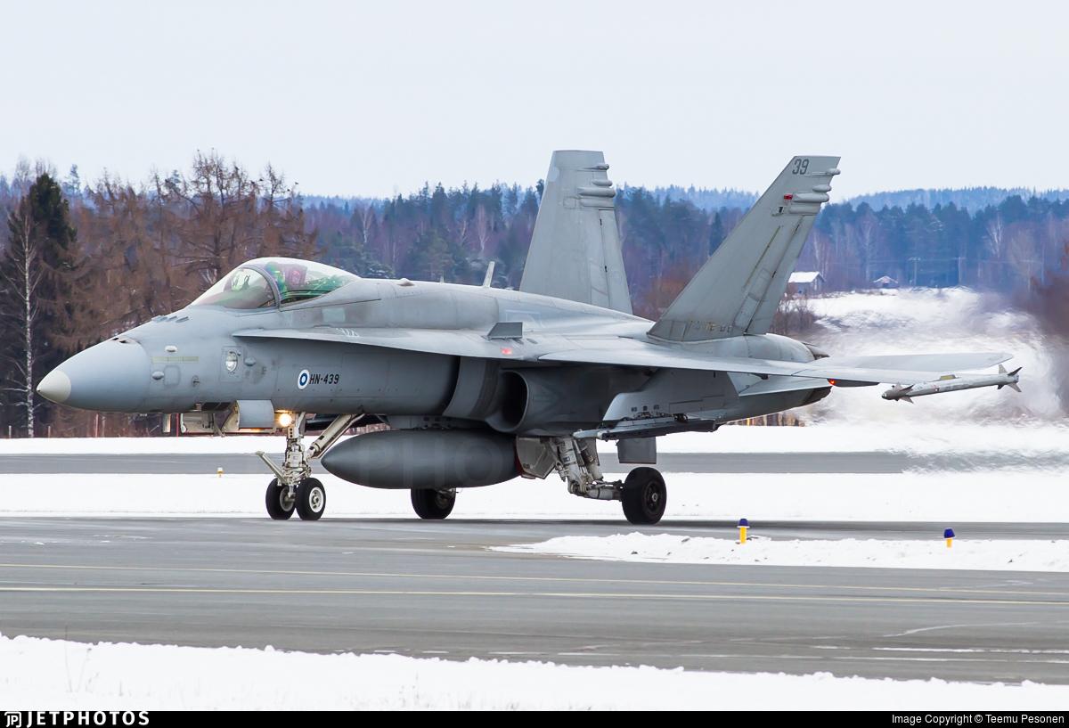 HN-439 - McDonnell Douglas F-18C Hornet - Finland - Air Force