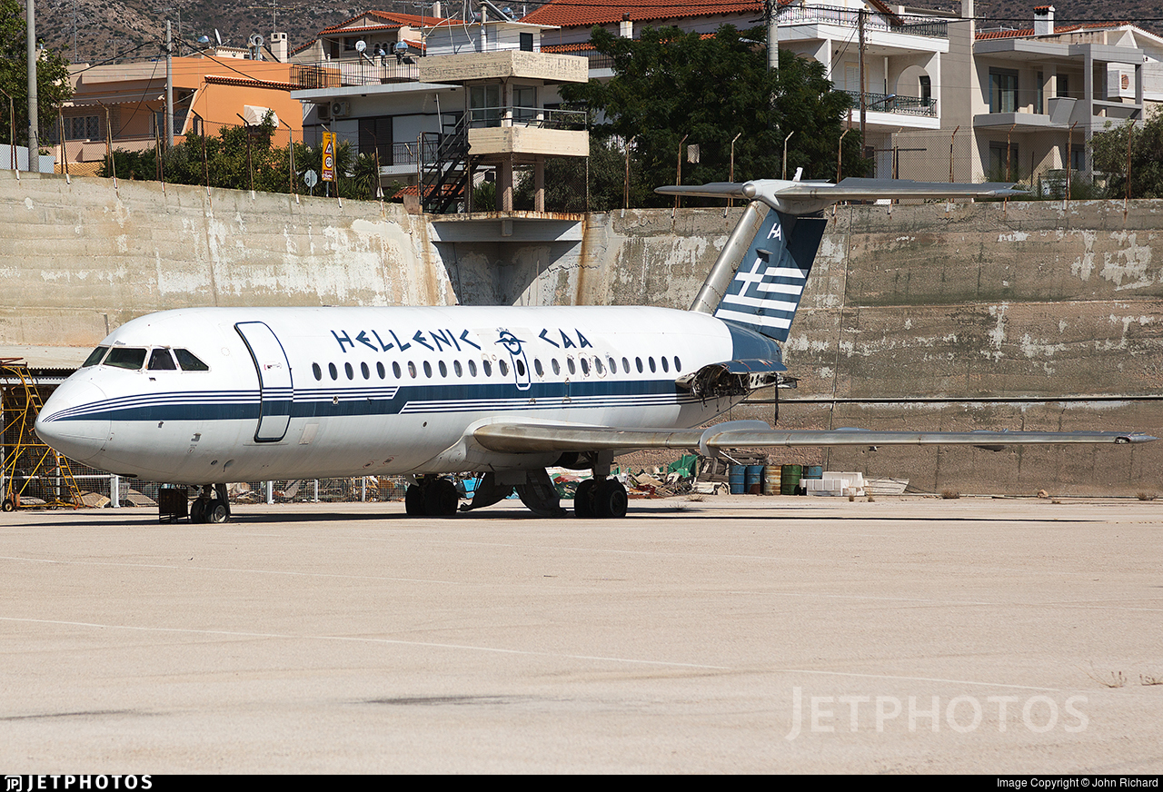 SX-BAR - British Aircraft Corporation BAC 1-11 Series 215AU - Hellenic Imperial Airways