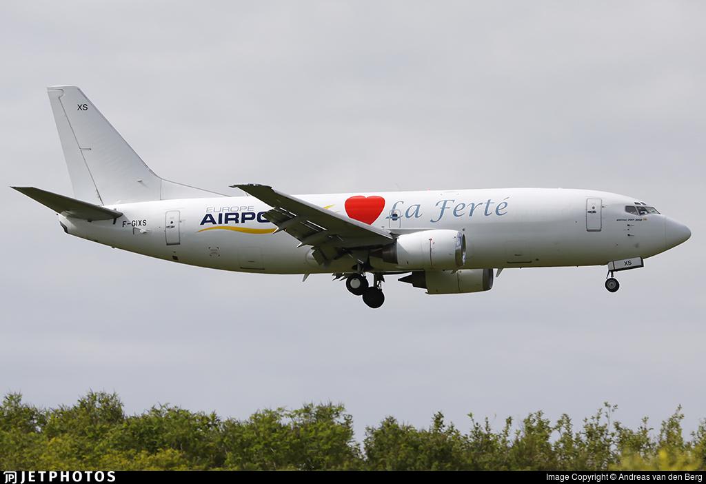 F-GIXS - Boeing 737-3H6(SF) - Europe Airpost