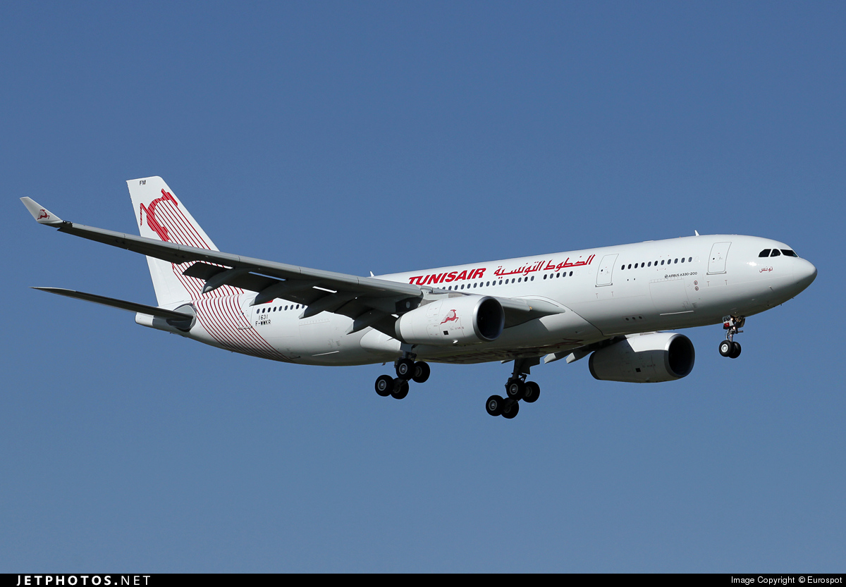 F-WWKR - Airbus A330-243 - Tunisair