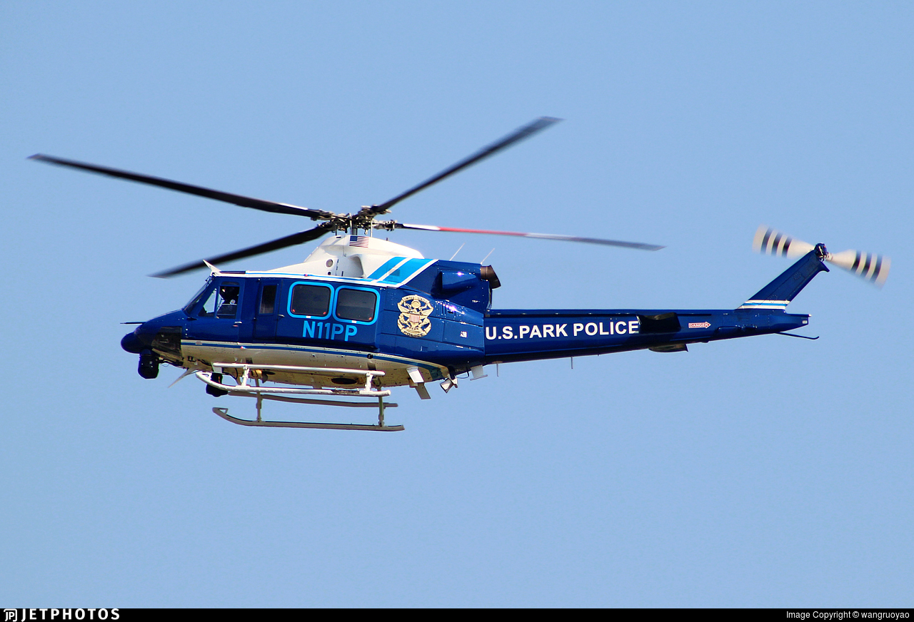 N11PP - Bell 412EP - United States - National Park Service