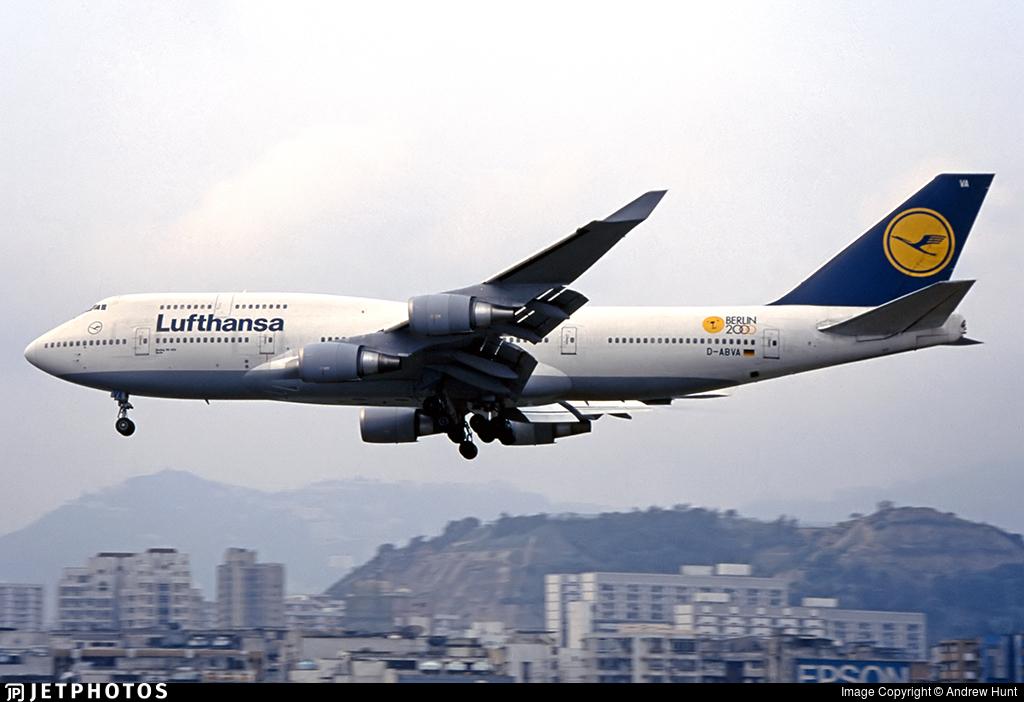 D-ABVA - Boeing 747-430 - Lufthansa