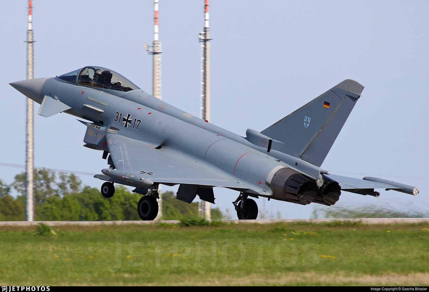 31-17 - Eurofighter Typhoon EF2000 - Germany - Air Force
