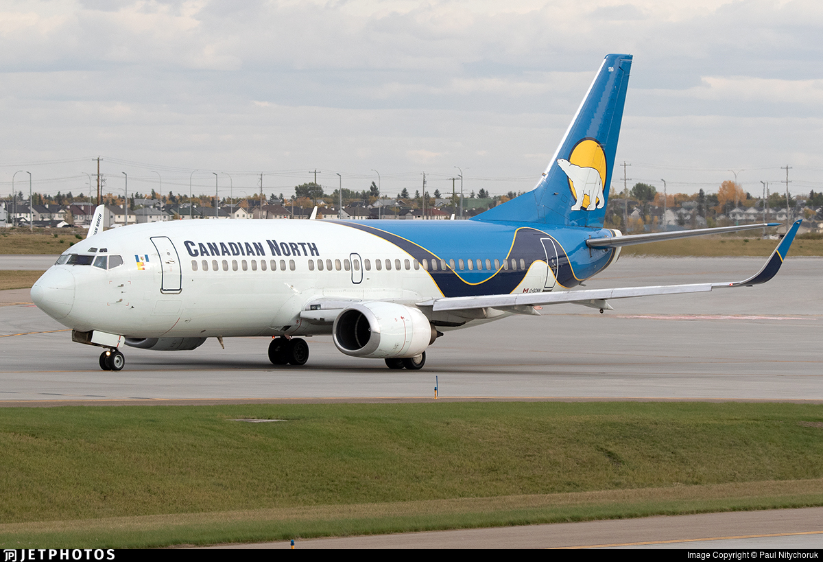 C-GCNW - Boeing 737-36Q - Canadian North