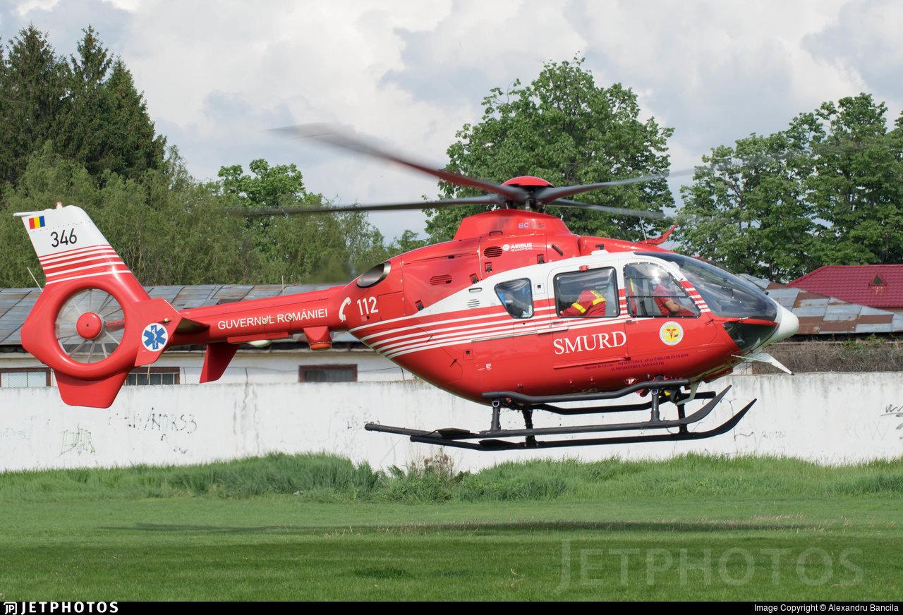346 - Eurocopter EC 135T2+ - Romania - Emergency Rescue Service (SMURD)