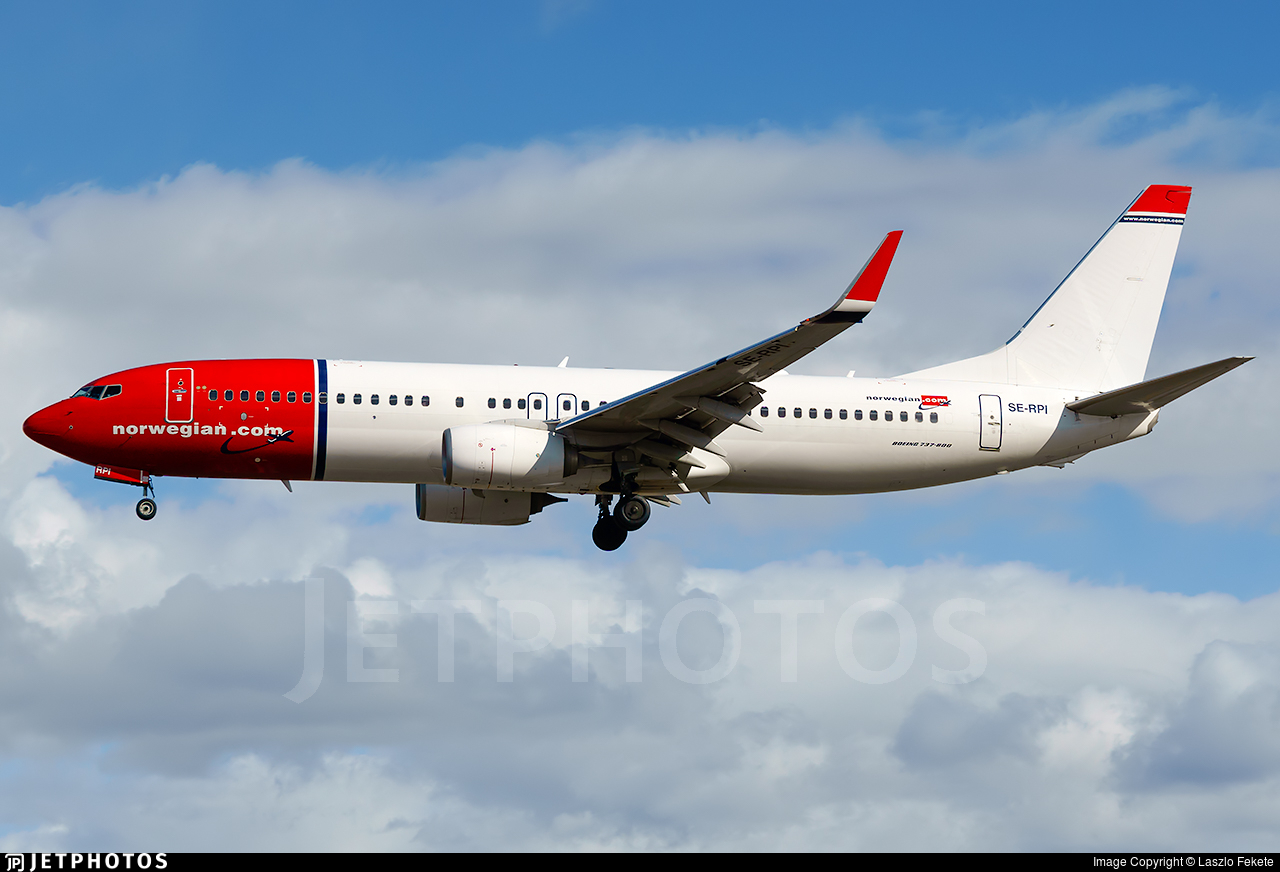 SE-RPI - Boeing 737-8JP - Norwegian