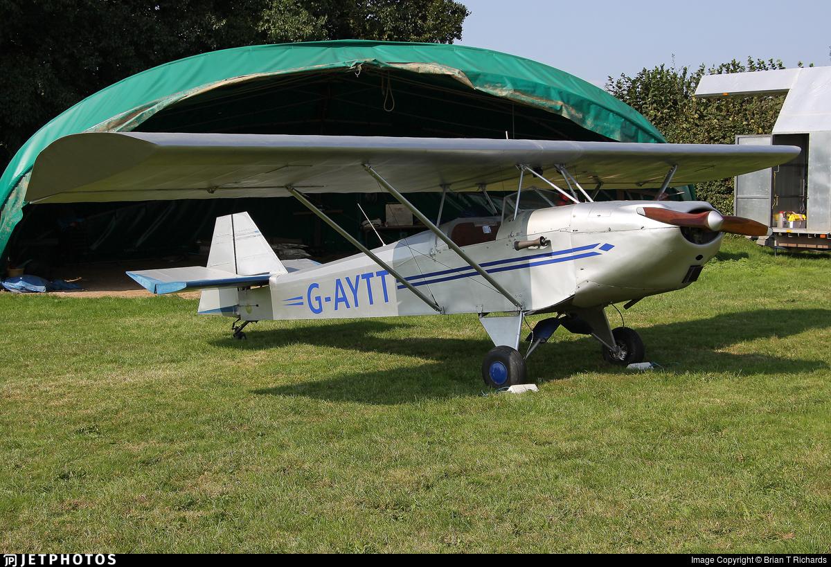 G-AYTT - Luton Minor III Duet - Private