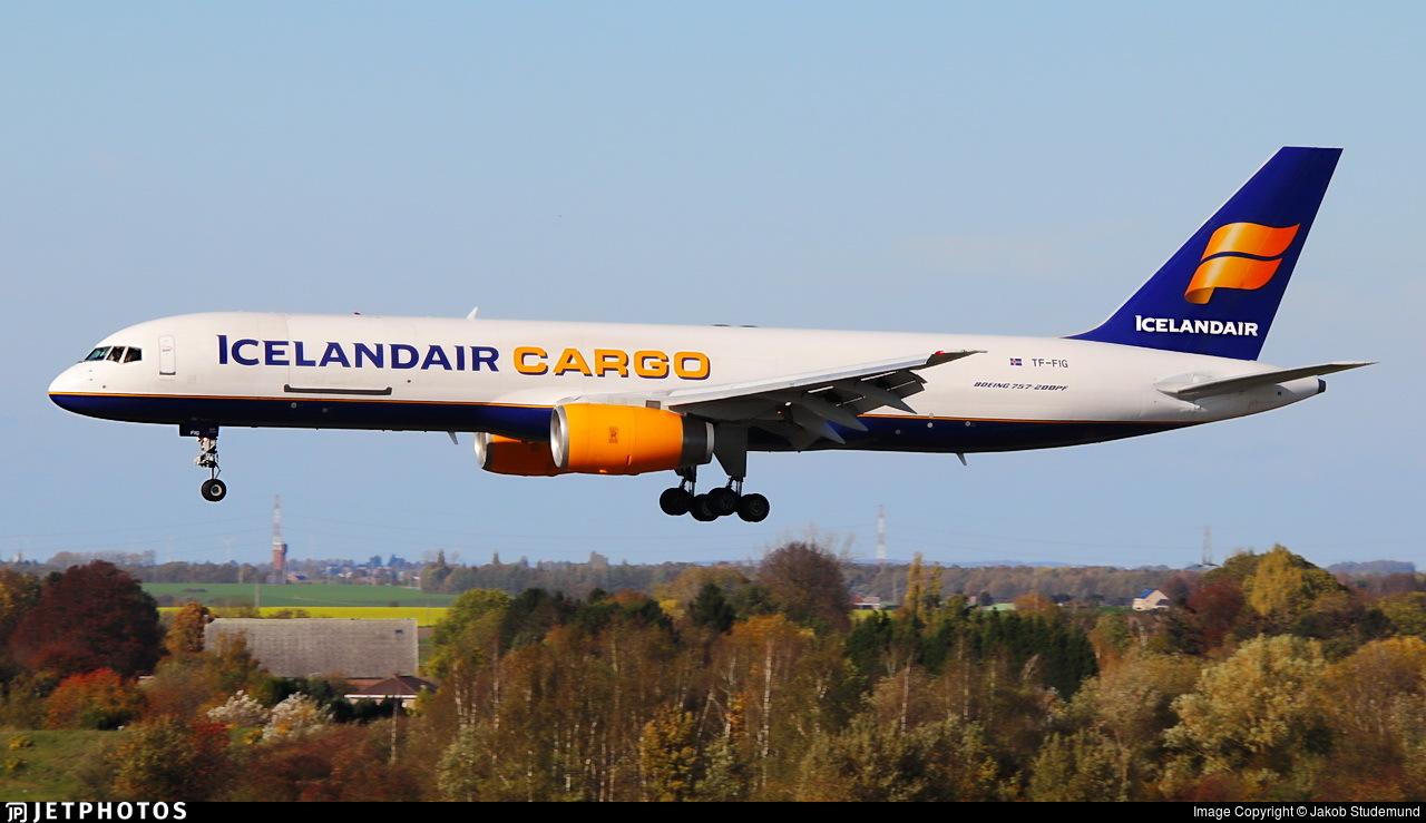 TF-FIG - Boeing 757-23A(PF) - Icelandair Cargo