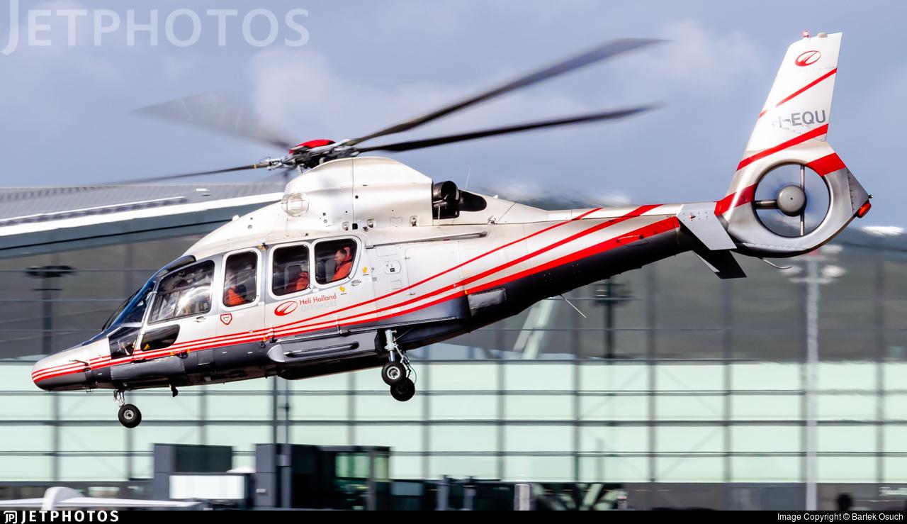 PH-EQU - Eurocopter EC 155B1 Dauphin - Heli Holland