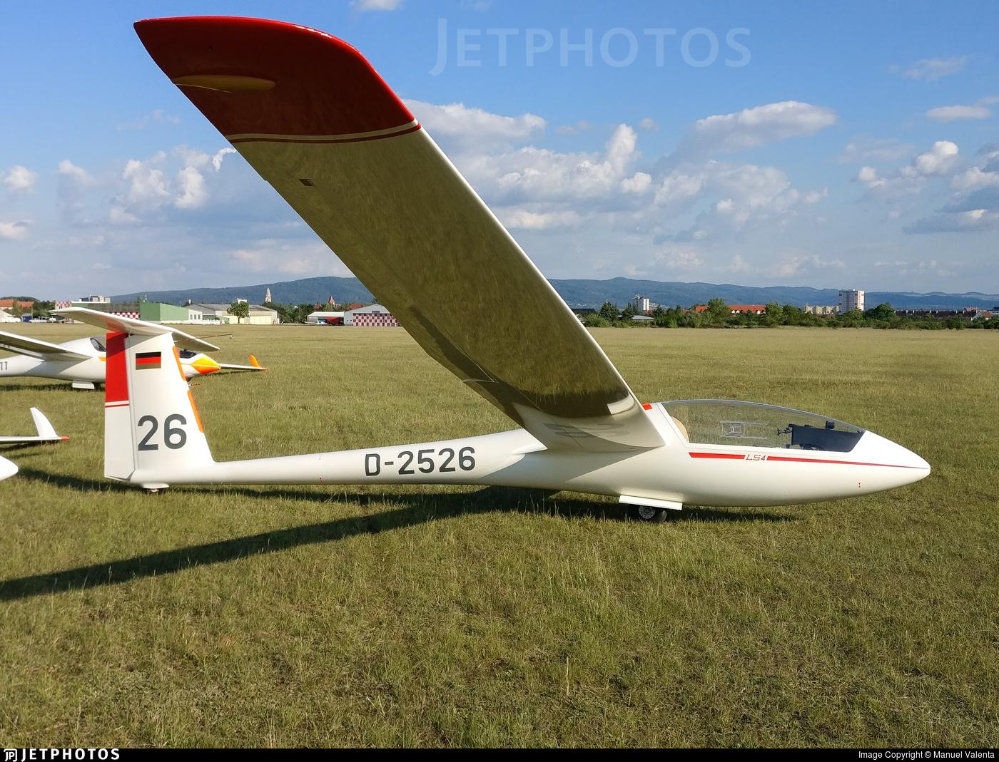 D-2526 - Rolladen-Schneider LS-4 - Private