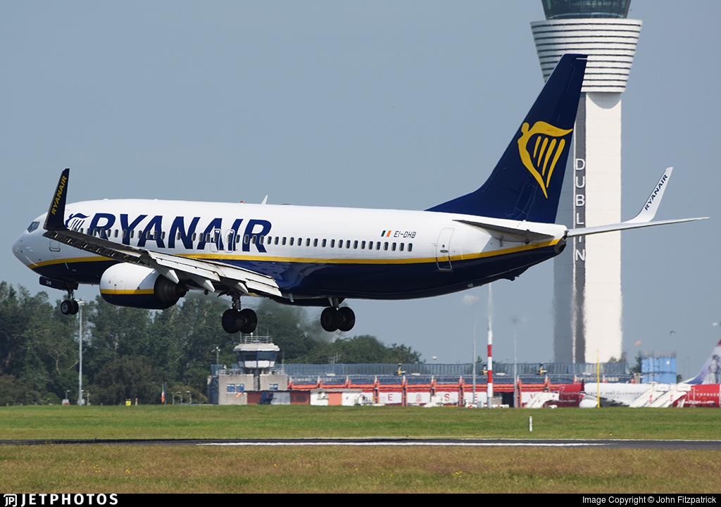 EI-DHB - Boeing 737-8AS - Ryanair
