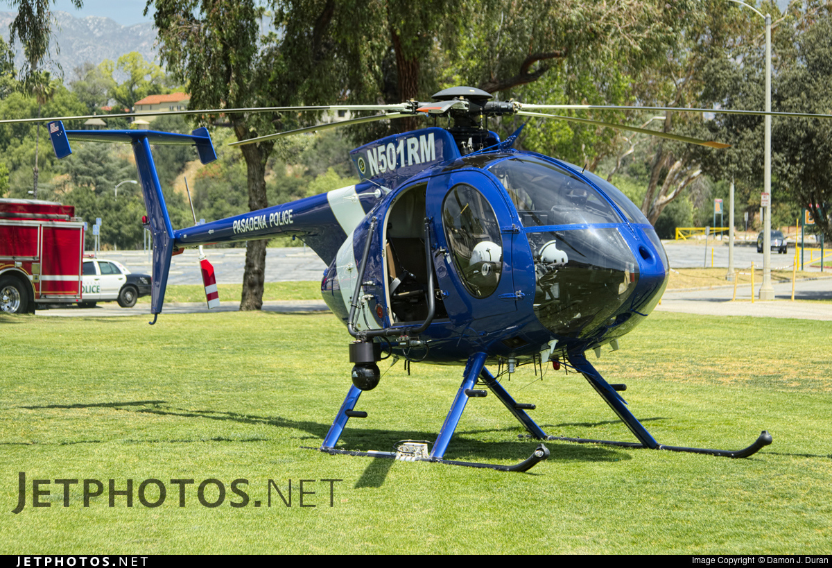 N501RM - MD Helicopters 369E - United States - Pasadena Police Department