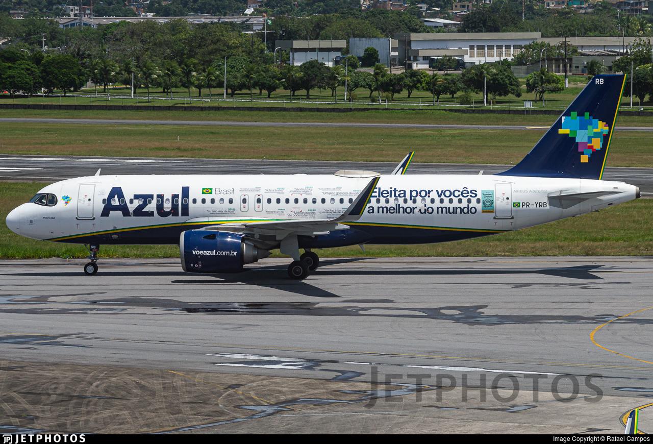 PR-YRB - Airbus A320-251N - Azul Linhas Aéreas Brasileiras