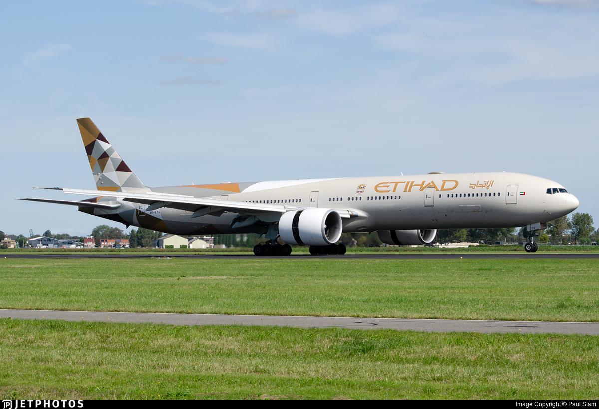 A6-ETA - Boeing 777-3FXER - Etihad Airways