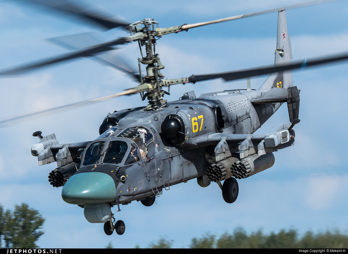 RF-91107 | Kamov Ka-52 Alligator | Russia - Air Force | Maks ...
