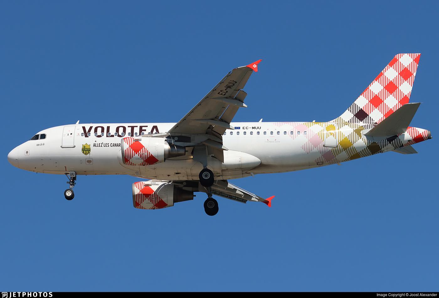 EC-MUU - Airbus A319-111 - Volotea