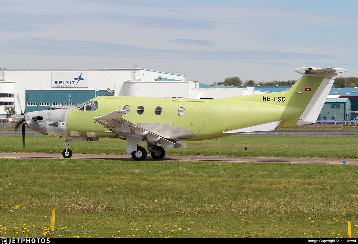 HB-FSC - Pilatus PC-12/47E - Pilatus Aircraft