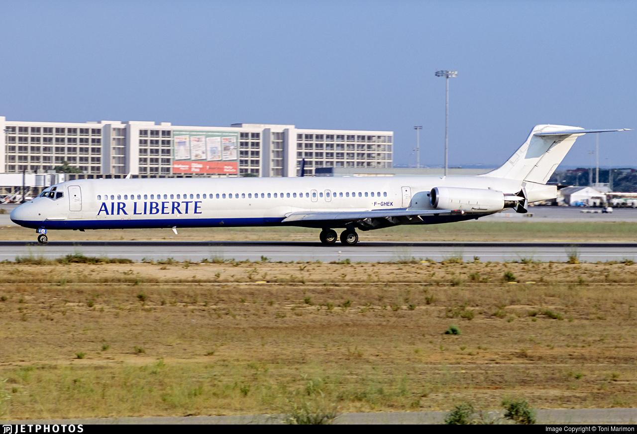 F-GHEK - McDonnell Douglas MD-83 - Air Liberté
