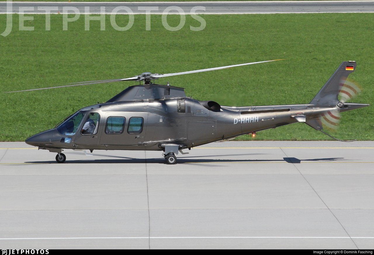 D-HHHH - Agusta A109 Power Elite - HTM Helicopter Travel Munich