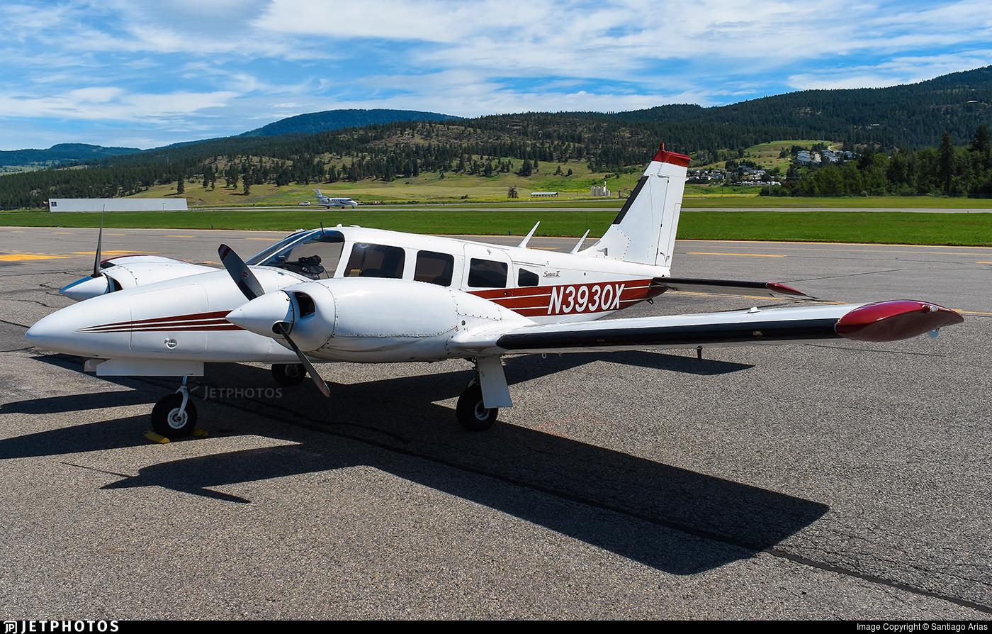 N3930X - Piper PA-34-200T Seneca II - Private