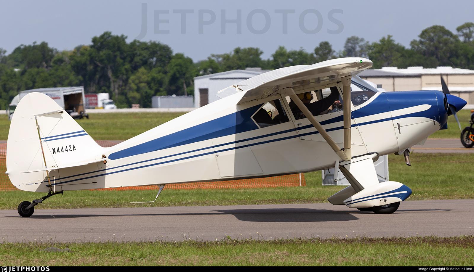 N4442A - Piper PA-22-150 Tri-Pacer - Private